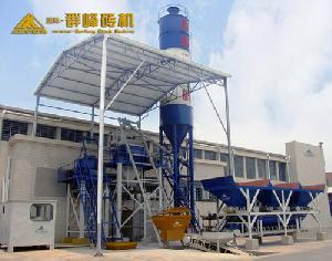 concrete mixing plant qft10 15 block line