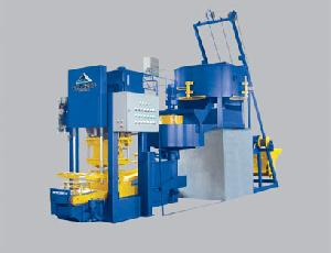 Qfw-120 Concrete Roof Tiles Making Forming Machine