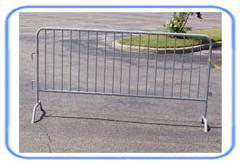 pedestrian barriers dipped galvanized