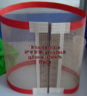 ptfe coated glass mesh farbics