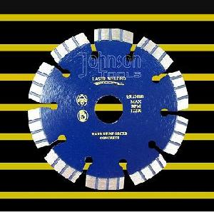 125mm laser welded turbo segment blade