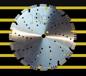 350mm diamond laser blades stone