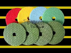 diamond tool 125mm dry polishing pad