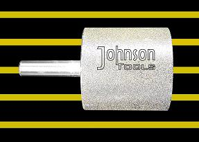 """diamond tool grinding od50x50h """"column from"""" electroplated gal bit"""