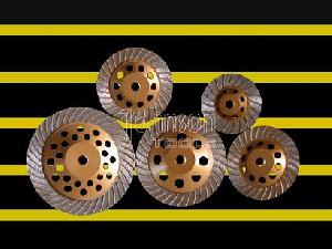 diamond tool turbo cup wheel