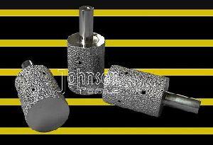 drilling tool od35mm vacuum brazed diamond milling bit