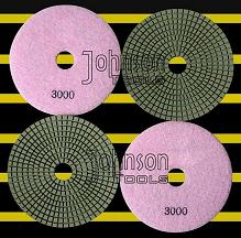 grinding tool 125mm diamond wet polishing pad