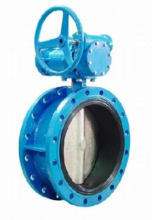 cast steel flanged butterfly valves