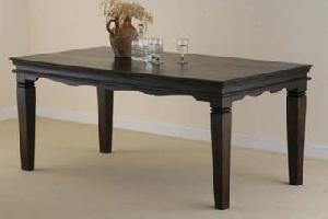 indian wooden dining table manufacturer exporter wholesaler