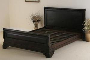 indian wooden king bed manufacturer exporter wholesaler