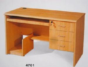 office clerk table computer desk station furniture