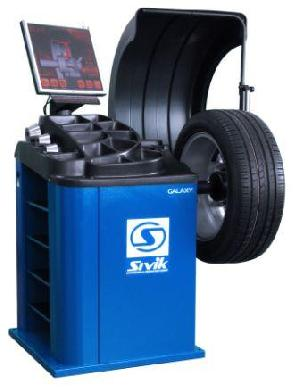 galaxy lcd monitor touch computerized wheel balancer orign russia