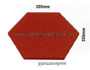 unglazed ceramic tile
