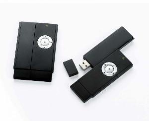 v365 mini card wireless presenter laser pointer