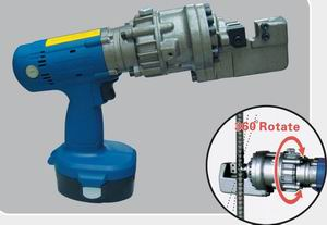 portable motor hydraulic rebar cutting tool