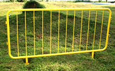 galvanized steel barricade manufactured qingdao yongchang