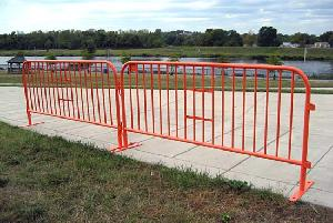 steel barricades safety barrier supplied qingdao yongchang