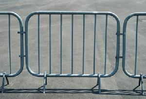 steel barricades saftey barriers traffic fence