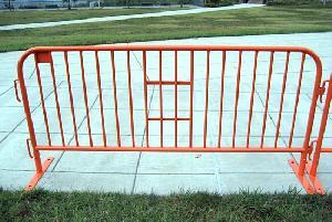 temporary fencing steel barricade