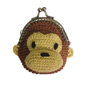 monkey key coin wallet