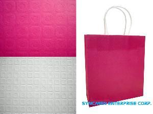 press pattern carrier bag
