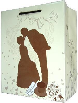 wedding paper carrier art gloss lamination