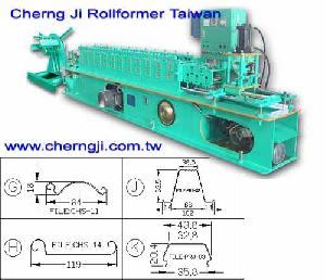 cherng ji – customized roll forming machine
