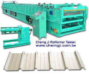cherng ji roofing roll forming machine