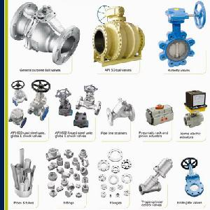 ball valve gate globe check cs ss pipes fittings actuators