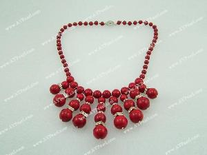 blood stone necklace