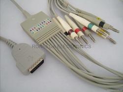 ge marqutte ekg cable 10 leads mac1200 500