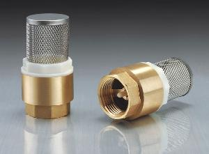 brass check valves filter