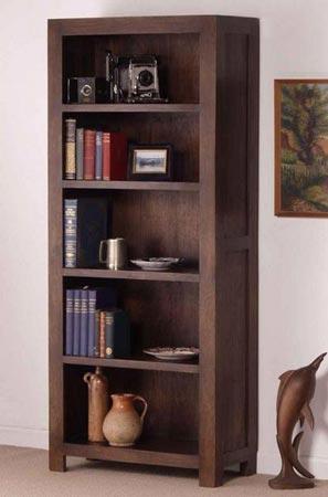 indian wooden bookcase manufacturer exporter wholesaler