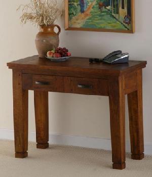 indian wooden drawer consol table manufacturer exporter wholesaler