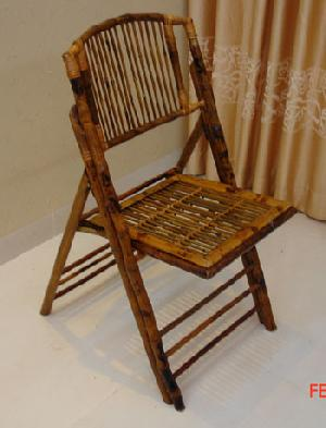 exporting events furniture bamboo folding chair