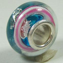 plated silver core glass beads pandora jewellery