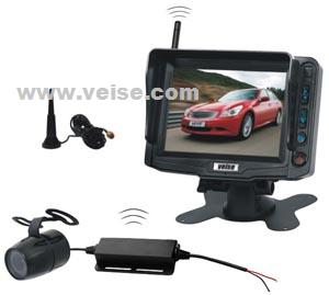 4ch wireless backup camera system 5 tft lcd monitor voltage dc11 32 volts transparent k