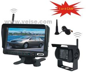 4ch wireless backup camera system 7 tft lcd monitor voltage dc11 32 volts transparent k