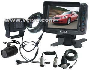 rear view camera system 5 tft lcd monitor removable sun visor voltage dc1