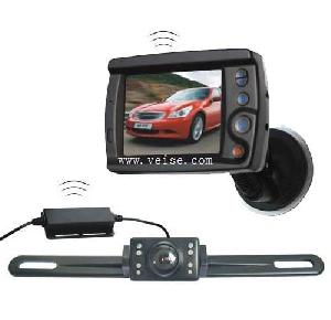 wireless rear view system 3 5 digital lcd monitor license plate camera dc11 32 volt