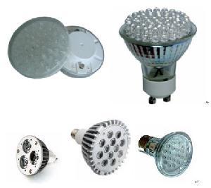 led replacement halogens spot light gu10 mr16 jdr gx53 par20