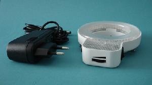 microscopes led illumination ring light circle lamp quandrant segament controll intensity