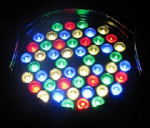 led par64 52x3watt lights
