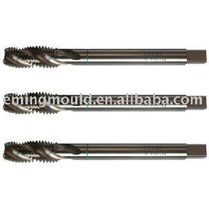 hss co machine taps din371 din376 35 degree spiral flute