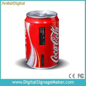 cola beer bottle advertising player lcd media play pop pos monitor ad
