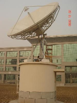 probecom 3 7m vsat antenna