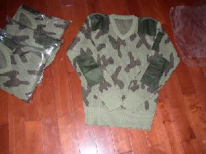 camouflage pullover sweater jersey military
