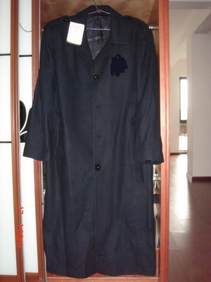 sudan wool coat overcoat military