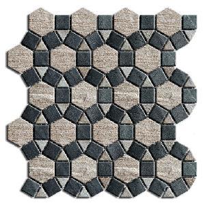 marble msaic tile