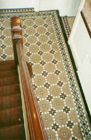 mosaic tiles border
